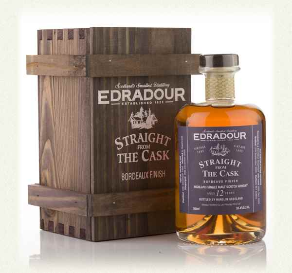 Edradour 12 Year Old 1995 Bordeaux Cask Finish - Straight From The Cask