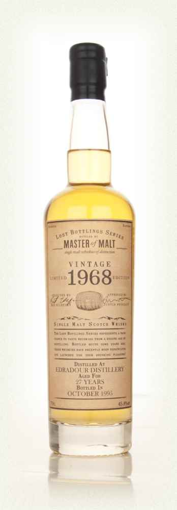 Edradour 27 Year Old 1968 - Lost Bottlings Series (Master of Malt)