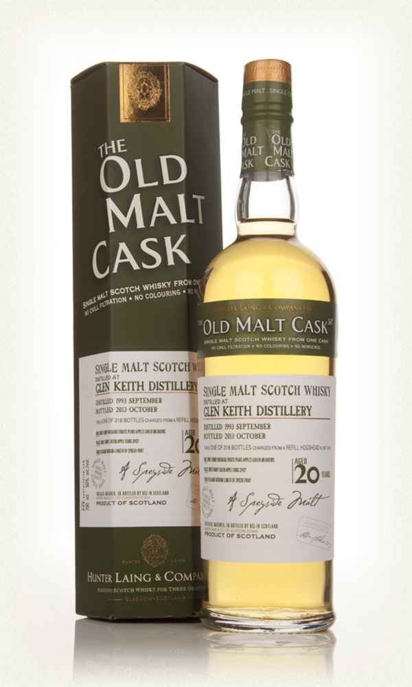 Glen Keith 20 Year Old 1993 (cask 10174) - Old Malt Cask (Hunter Laing)