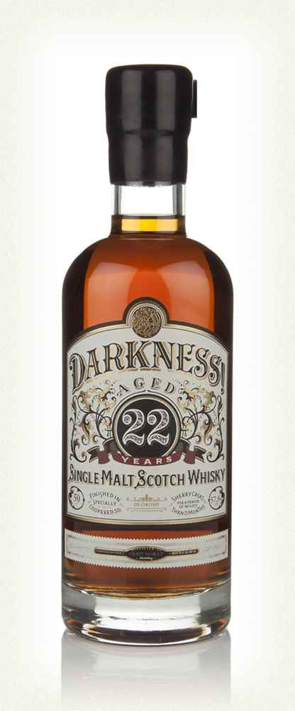 Darkness! Glen Moray 22 Year Old Oloroso Cask Finish