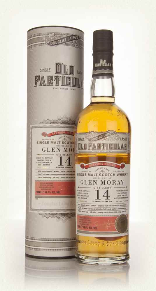 Glen Moray 14 Year Old 1999 (cask 10043) - Old Particular (Douglas Laing)