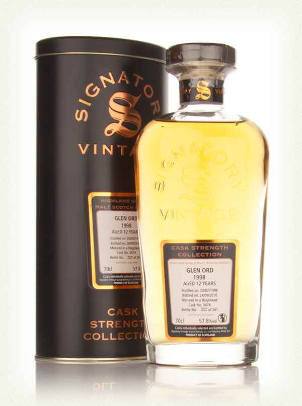Glen Ord 12 Year Old 1998 Cask 3474 - Cask Strength Collection (Signatory)