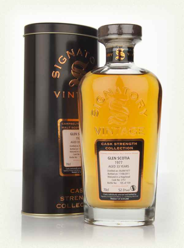 Glen Scotia 33 Year Old 1977 - Cask Strength Collection (Signatory)