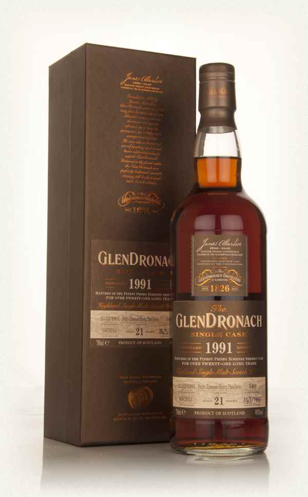GlenDronach 21 Year Old 1991 (cask 5409) - Batch 8