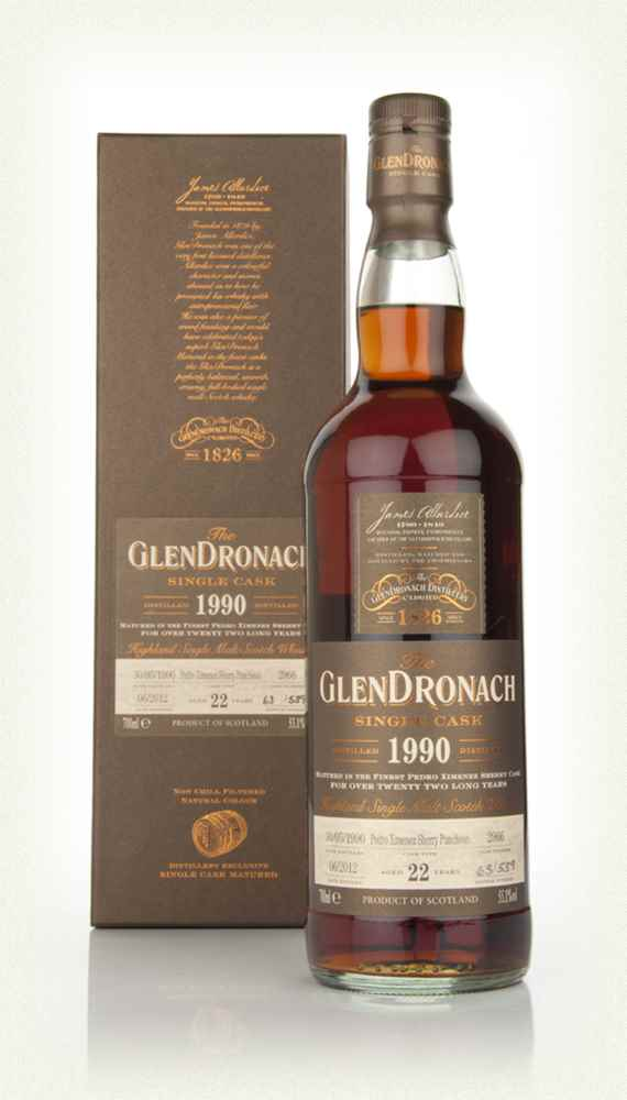 GlenDronach 22 Year Old 1990 Batch 6