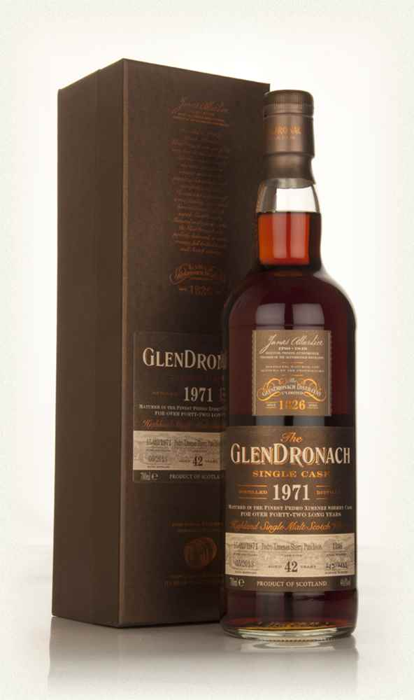 GlenDronach 42 Year Old 1971 (cask 1246) - Batch 8