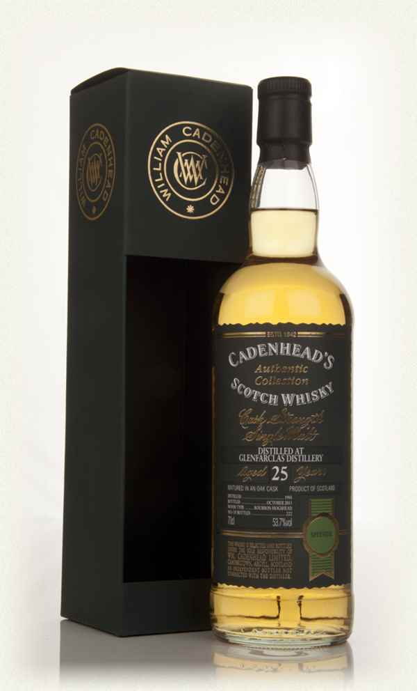 Glenfarclas Distillery 25 Year Old 1988 - Authentic Collection (WM Cadenhead)