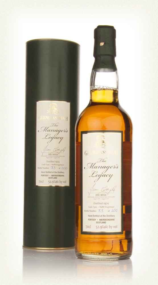 Glenglassaugh 1974 Manager's Legacy Jim Cryle