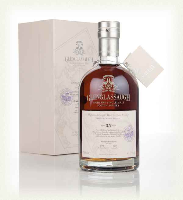 Glenglassaugh 35 Year Old 1978 - The Massandra Connection - Madeira Wood Finish