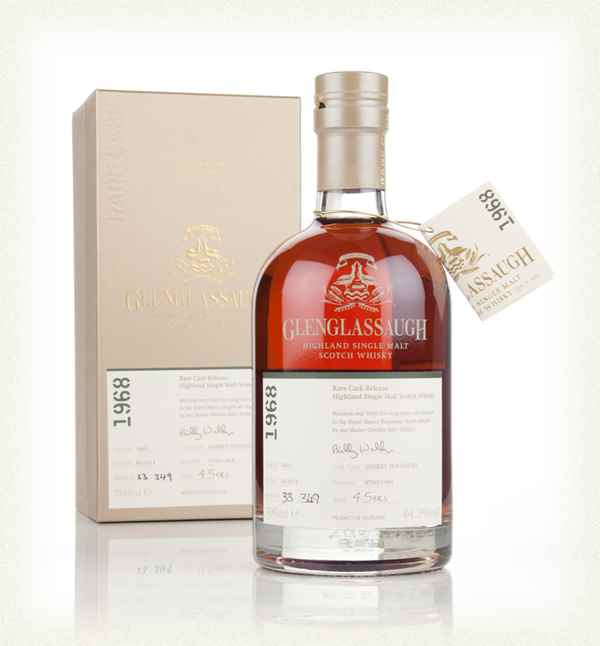 Glenglassaugh 45 Year Old 1968 (cask 1601) - Rare Cask Release Batch 1