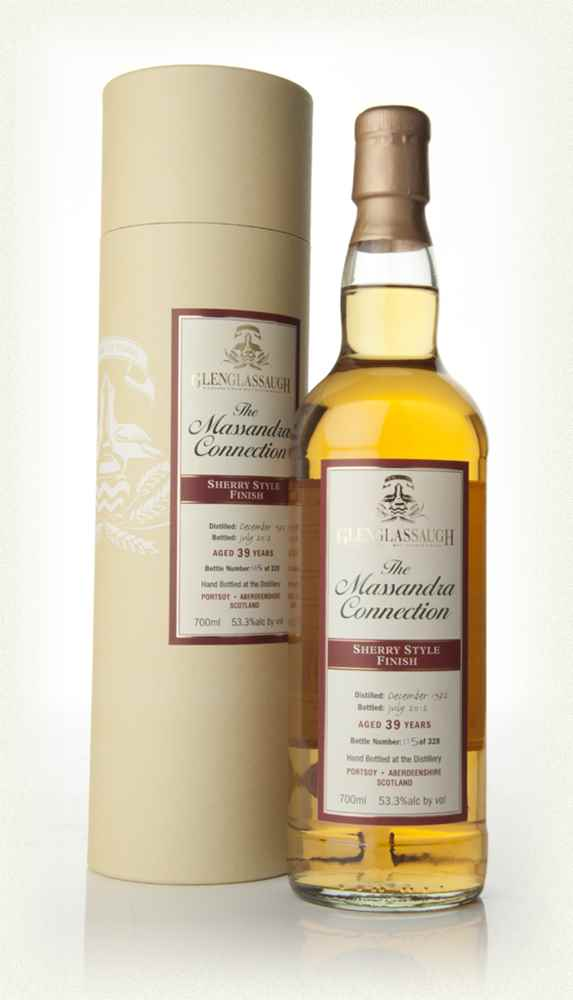 Glenglassaugh 39 Year Old 1972 - Sherry Cask Finish