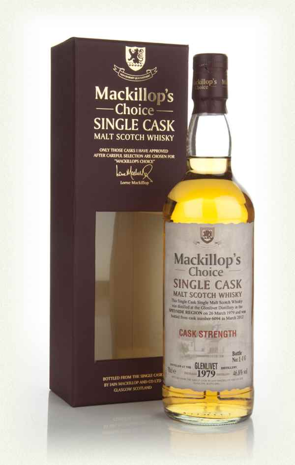 Glenlivet 1979 (cask 6094) - Mackillop's Choice (bottled 2012)
