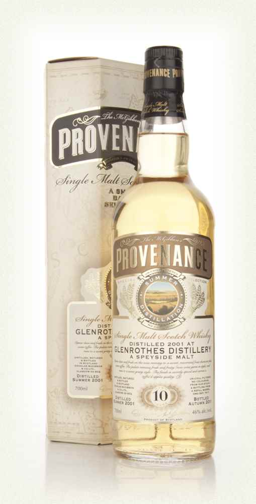 Glenrothes 10 Year Old 2001 - Provenance (Douglas Laing)