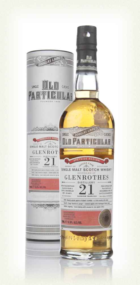 Glenrothes 21 Year Old 1992 (cask 10275) - Old Particular (Douglas Laing)