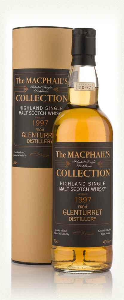 Glenturret 10 Year Old 1997 - The MacPhail's Collection (Gordon and MacPhail)