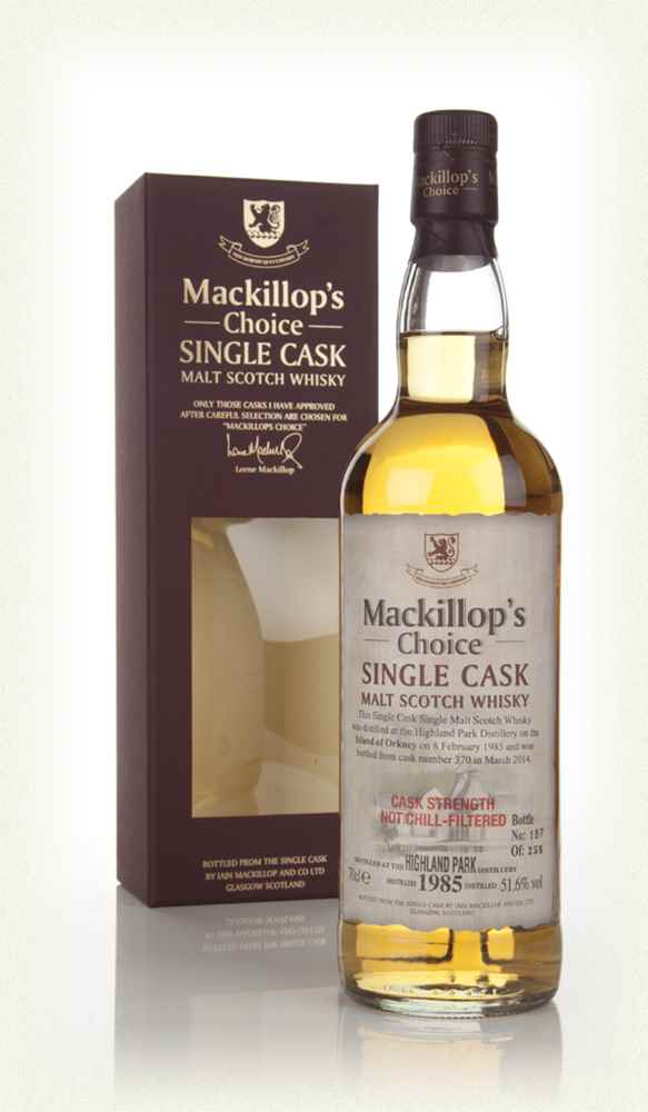 Highland Park 29 Year Old 1985 (cask 370) - Mackillop's Choice