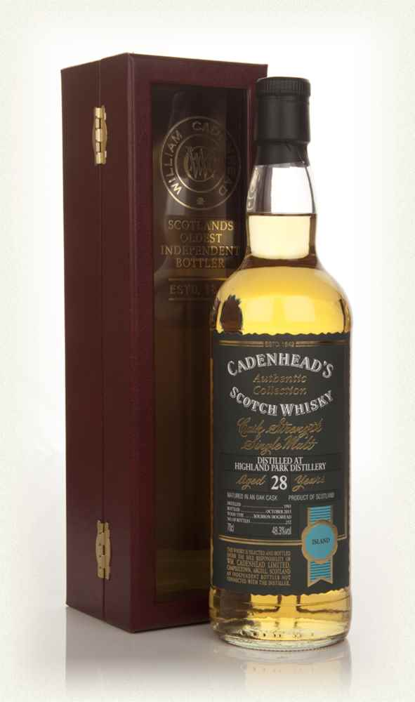 Highland Park 28 Year Old 1985 - Authentic Collection (WM Cadenhead)
