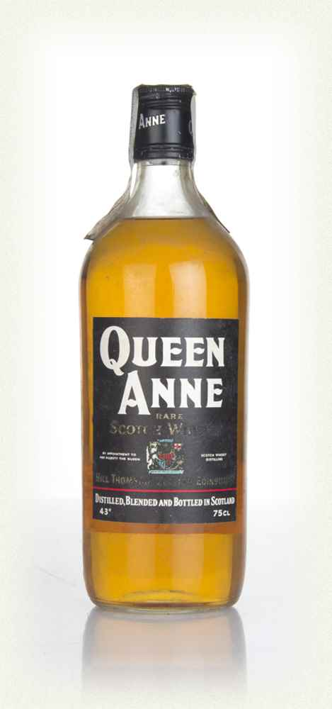 Queen Anne Blended Scotch Whisky - 1970s