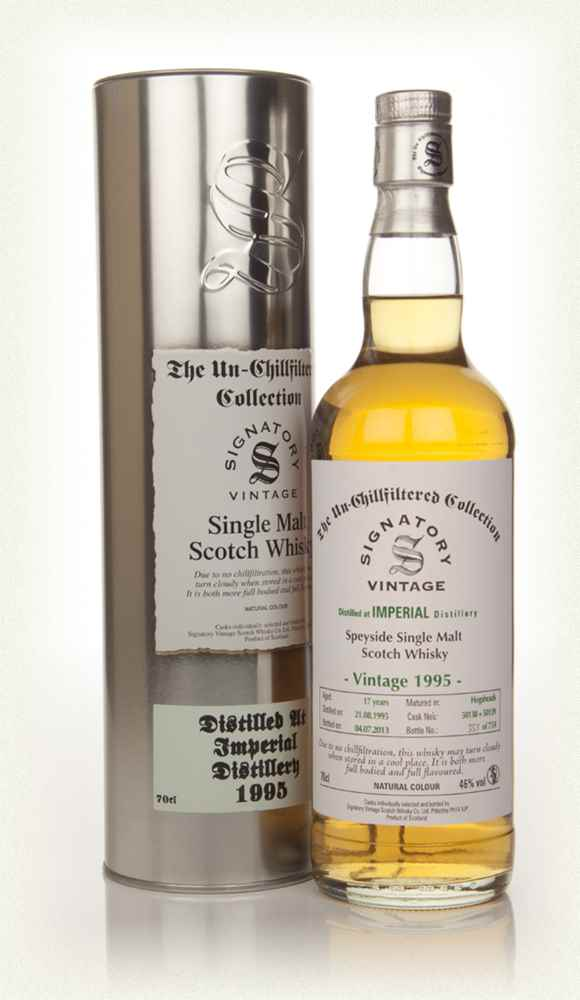 Imperial 17 Year Old 1995 (casks 50138+50139) - Un-Chillfiltered  (Signatory)