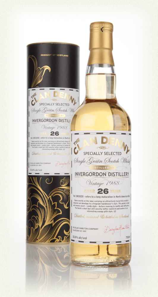 Invergordon 26 Year Old 1988 (cask 10250) - The Clan Denny (Douglas Laing)