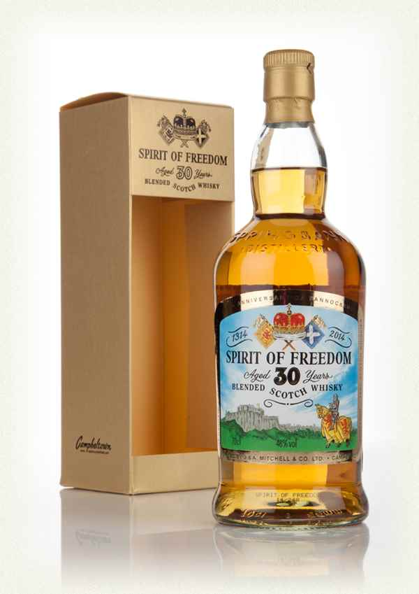Spirit of Freedom 30 Year Old Blended Scotch