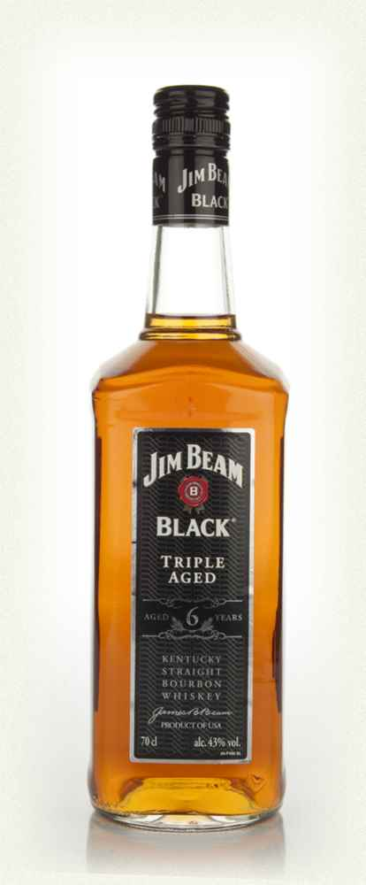 Jim Beam Black Label 6 Year Old Triple Aged Whiskey