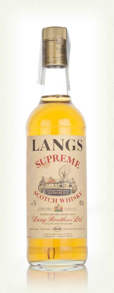 Langs Supreme Blended Scotch Whisky