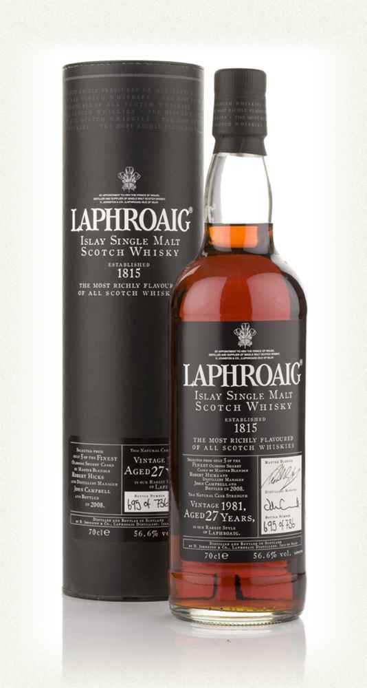 Laphroaig 27 Year Old Oloroso Cask (2008 Release)