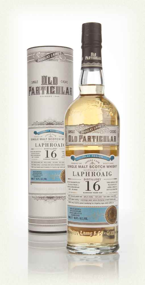 Laphroaig 16 Year Old 1998 (cask 10343) - Old Particular (Douglas Laing)