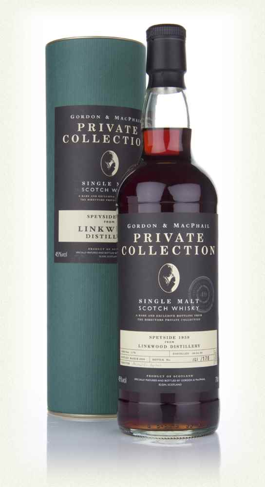Linkwood 1959 - Private Collection (Gordon and MacPhail)