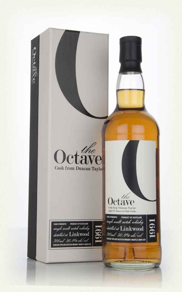 Linkwood 21 Year Old 1991 (cask 762990) - The Octave (Duncan Taylor)