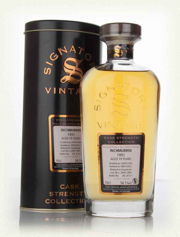 Inchmurrin 19 Year Old 1993 (cask 2844+2845) - Cask Strength Collection (Signatory)