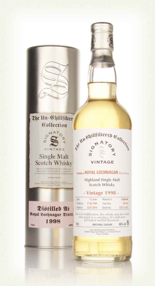 Royal Lochnagar 12 Year Old 1998 - Un-Chillfiltered (Signatory)