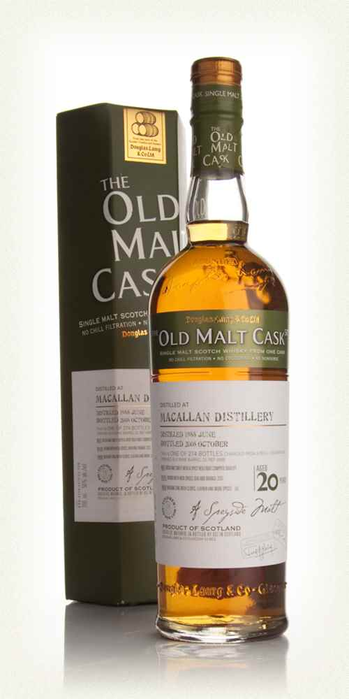 Macallan 20 Year Old 1988 - Old Malt Cask (Douglas Laing)