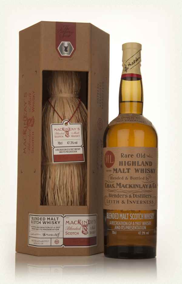 Mackinlay's Shackleton Rare Old Highland Malt - The Journey