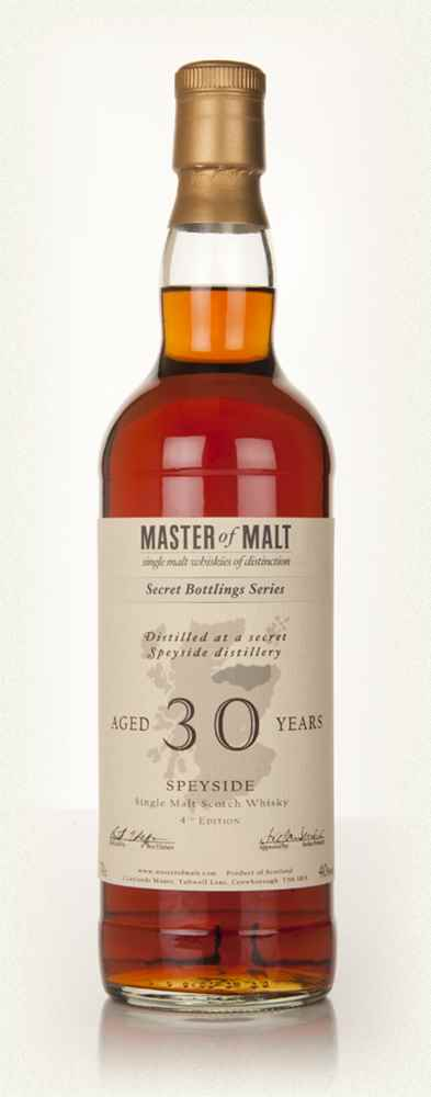 Master of Malt 30 Year Old Speyside (4th Edition)