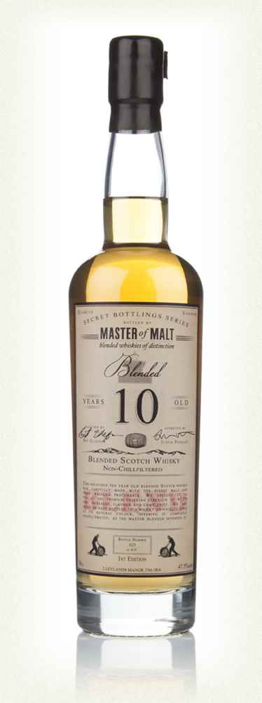 Master of Malt 10 Year Old Blended Whisky (1st Edition)