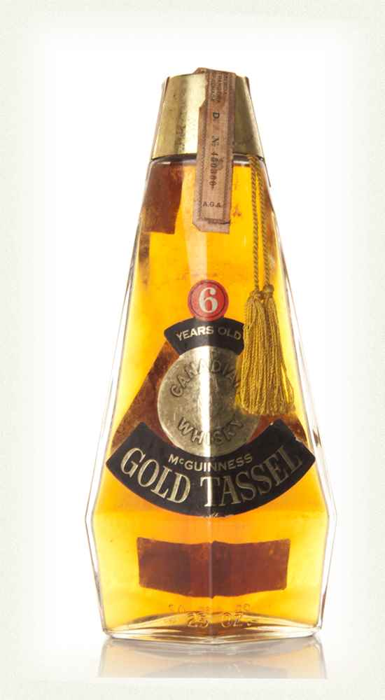 McGuinness Gold Tassel 6 Year Old  Canadian Whiskey - 1960s