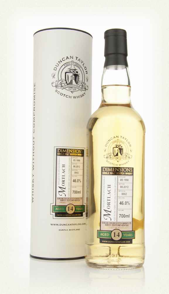 Mortlach 14 Year Old 1998 - Dimensions (Duncan Taylor)