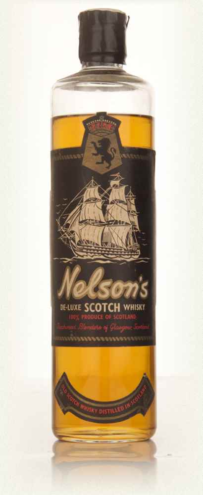 Nelson's De-Luxe Scotch Whisky - 1960s