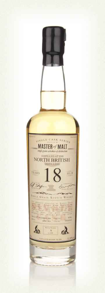 North British 18 Year Old 1994 - Single Cask (Master of Malt)