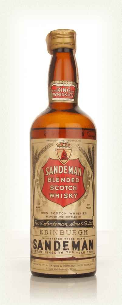 Sandeman Blended Scotch Whisky - 1960s