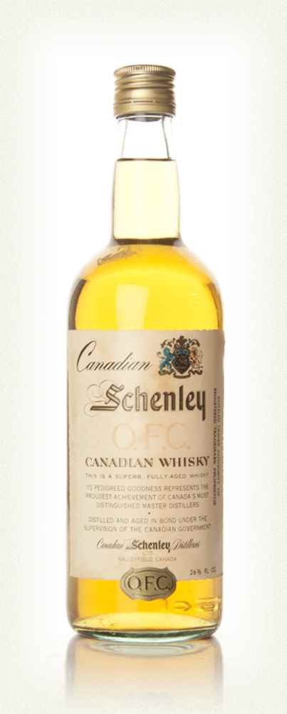 Schenley O.F.C. Canadian Whisky - 1960s