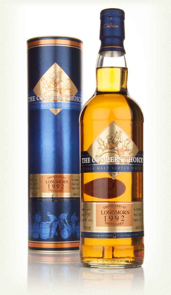 Longmorn 18 Year Old 1992 - The Coopers Choice (The Vintage Malt Whisky Co.)