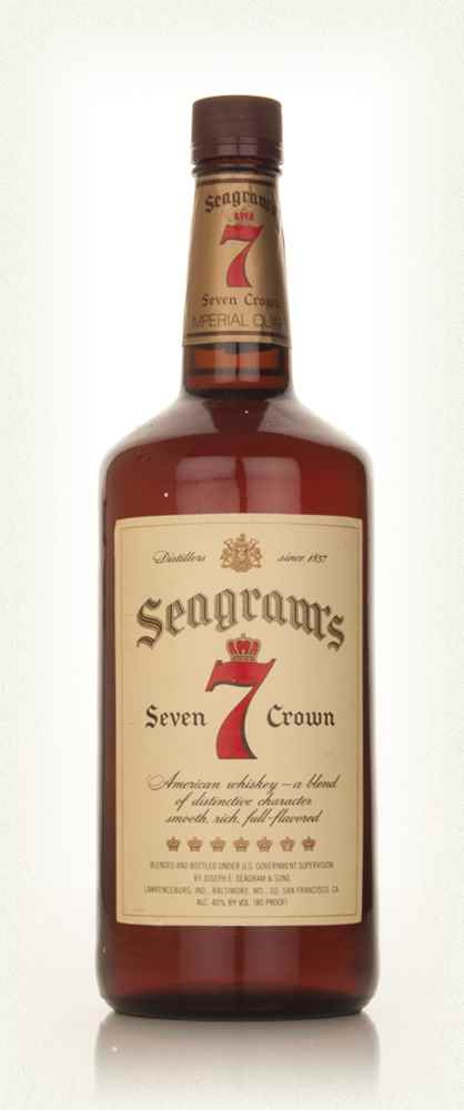 Seagram's 7 Crown - 1970s