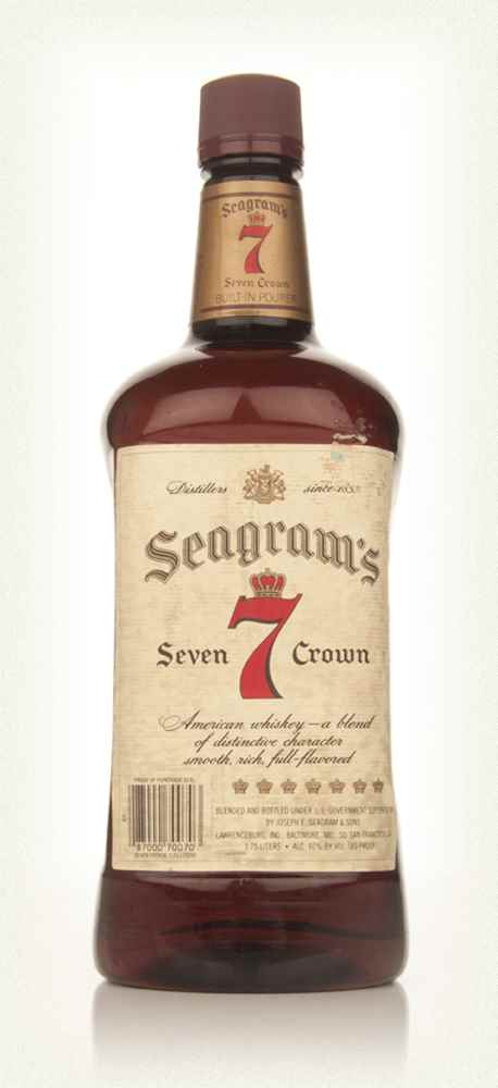 Seagram's 7 Crown - early 1980s
