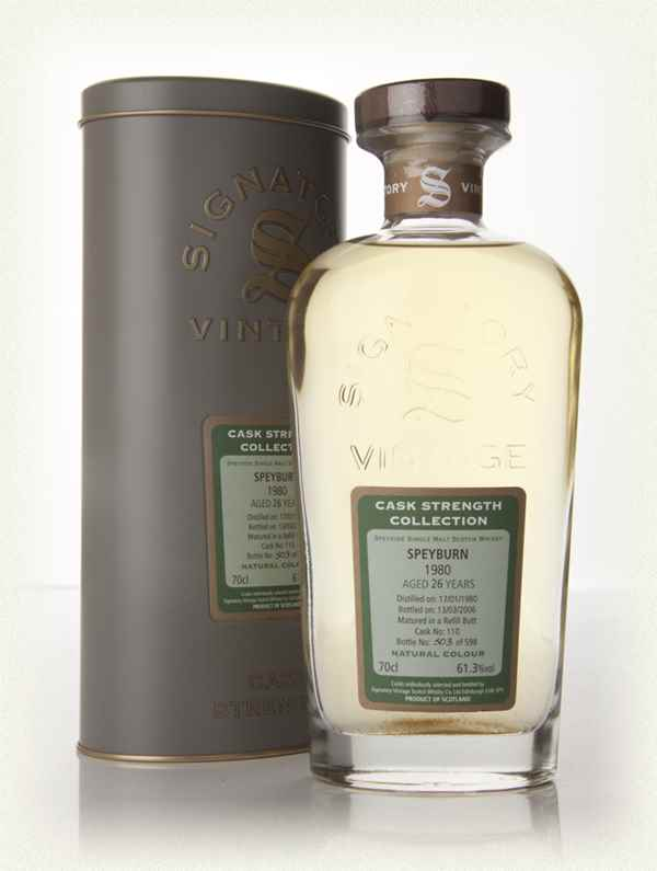 Speyburn 26 Year Old 1980 - Cask Strength Collection (Signatory)