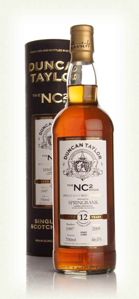 Springbank 12 Year Old 1997 - NC2 (Duncan Taylor)