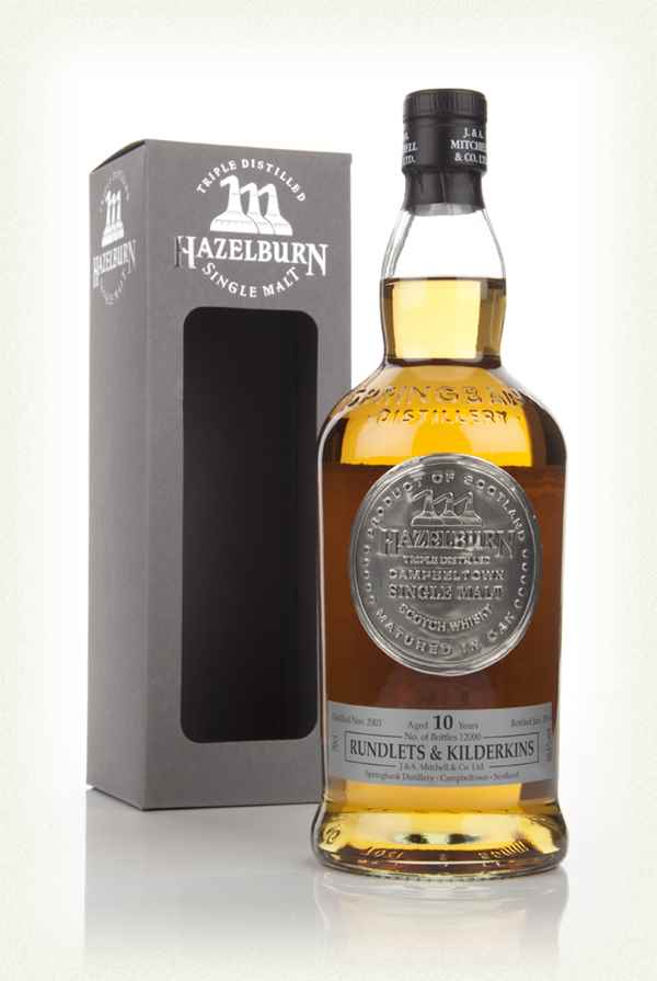 Hazelburn 10 Year Old 2003 - Rundlets & Kilderkins