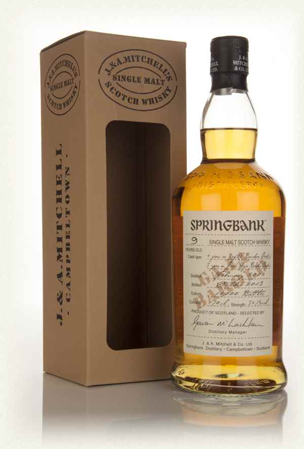 Springbank 9 Year Old Barolo Wood Finish